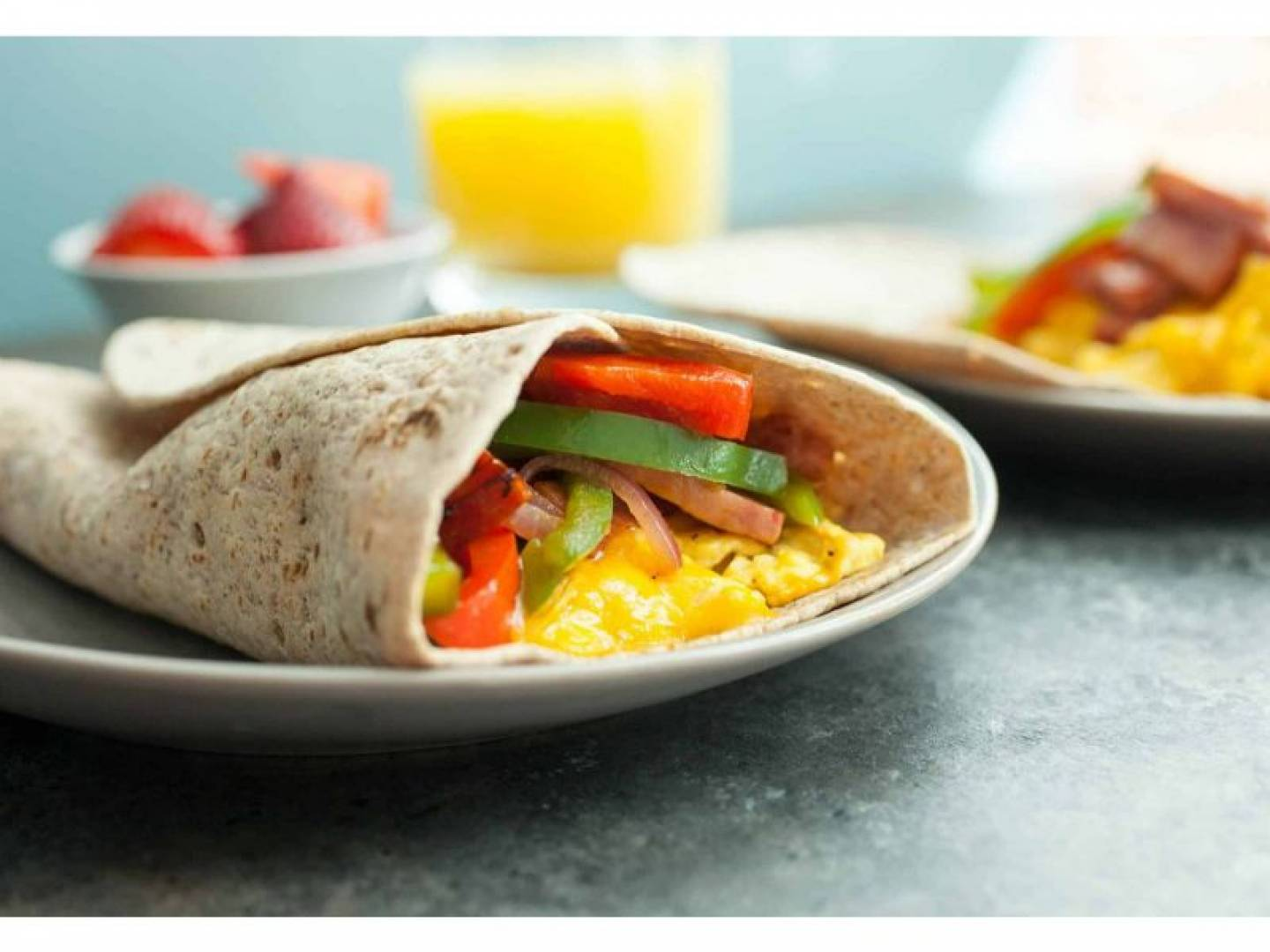 Breakfast Wrap  | Served with Salsa